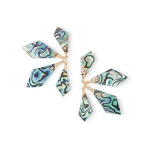 Kendra Scott Malika Earrings in Abalone